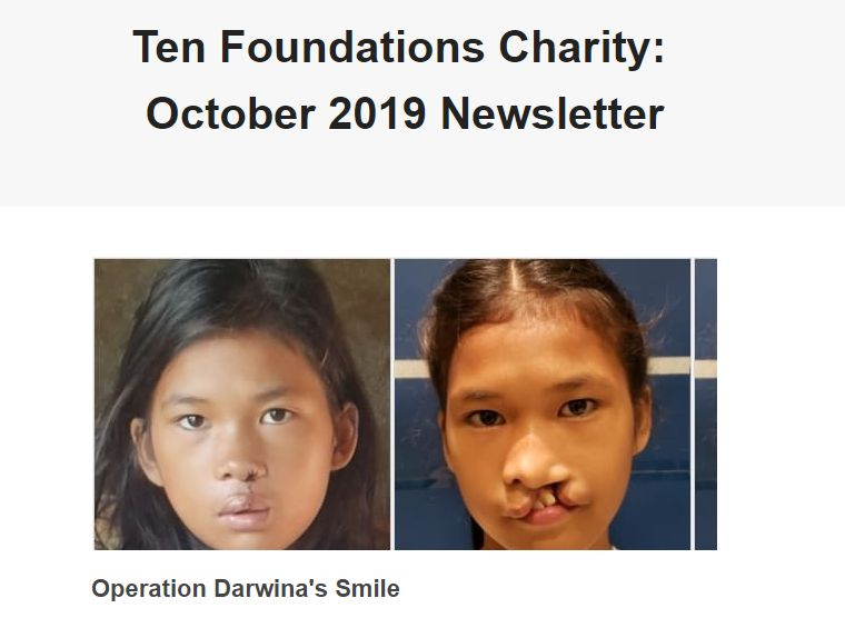 Our October 2019 Newsletter