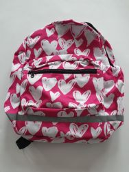 ARUGA PINK WITH WHITE HEARTS